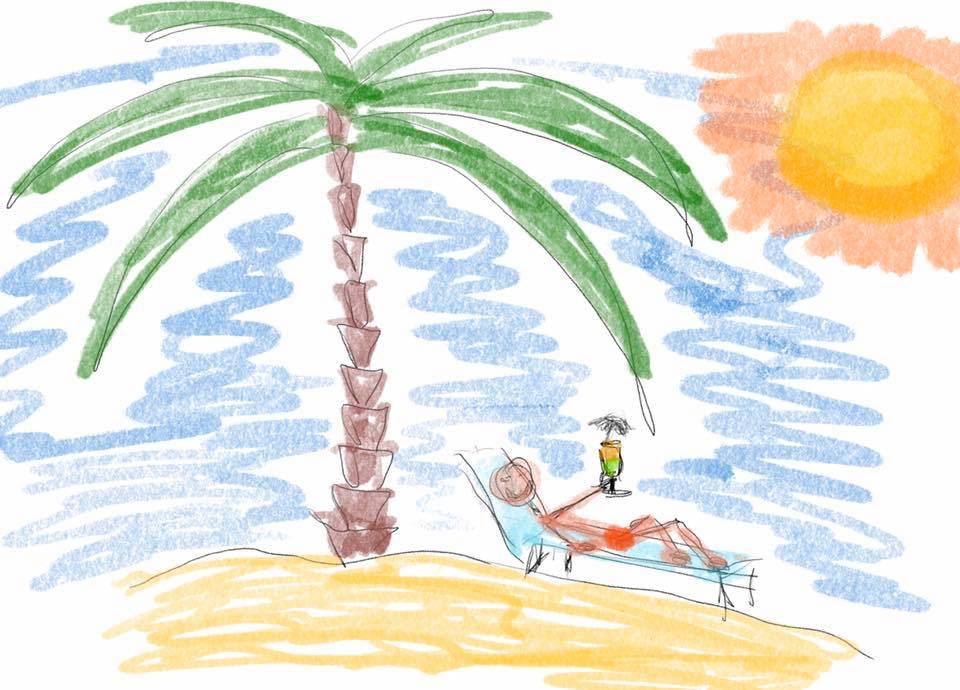 Der kleine Alltagsurlaub als Übung zur Erhöhung des psychischen Wohlbefindens.